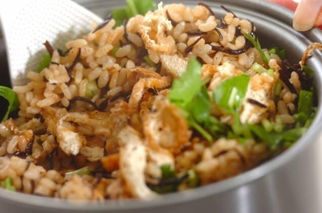 ヒジキの玄米ご飯の作り方の手順4