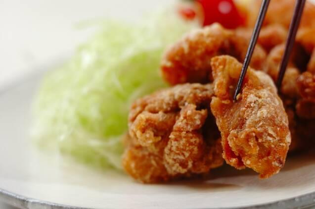 鶏のから揚げの作り方の手順4