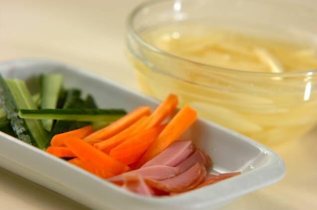 シャキシャキポテトサラダの作り方の手順1