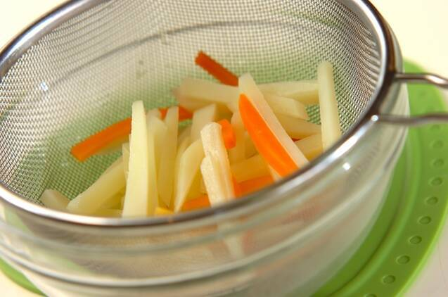 シャキシャキポテトサラダの作り方の手順2