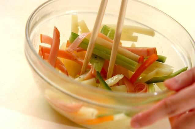 シャキシャキポテトサラダの作り方の手順4