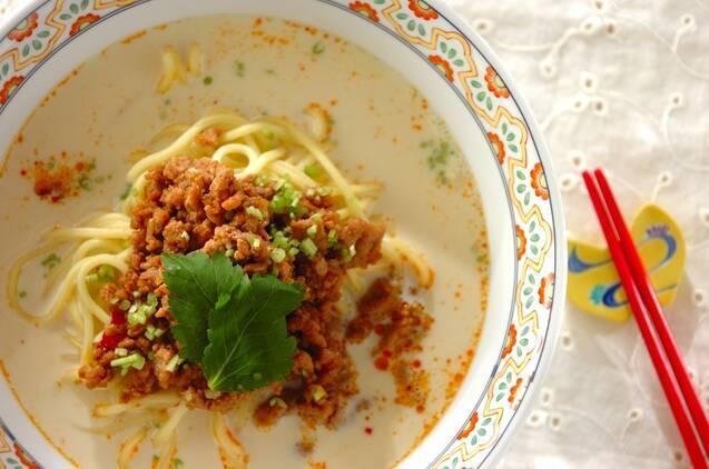 おうちで味わえる担々麺レシピ!ピリ辛味が食欲そそるの画像