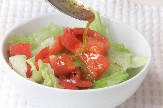 レタスとゆで卵のサラダの作り方の手順5