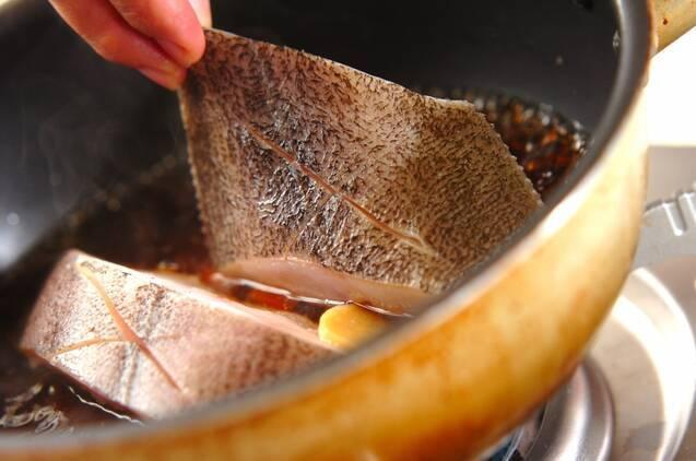 豆腐入りカレイの煮付けの作り方の手順4