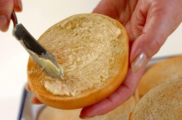 自家製ハンバーガーの作り方の手順7