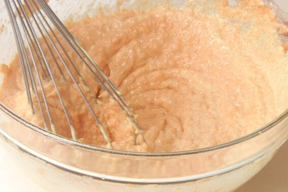 ニンジンケーキの作り方の手順8
