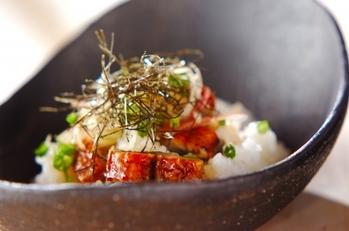 ウナギのちらし寿司