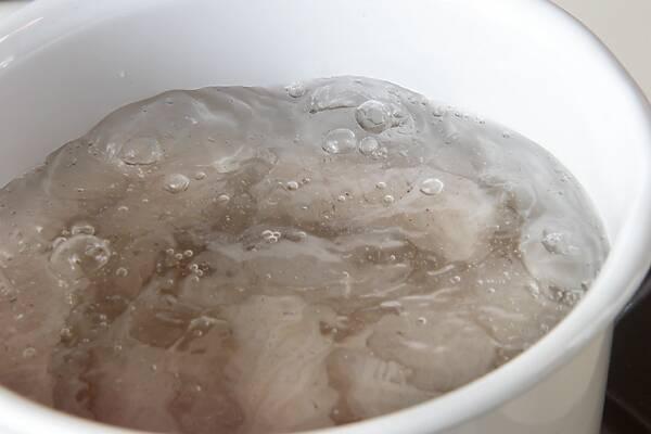 しょう油仕立てのあったかアンコウ鍋の作り方の手順7