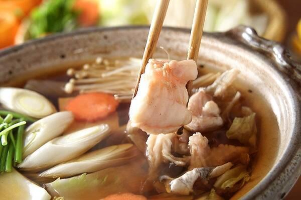 しょう油仕立てのあったかアンコウ鍋の作り方の手順12