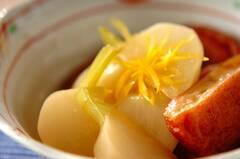 カブとさつま揚げの煮物