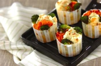 明太チーズのブロッコリーマフィン
