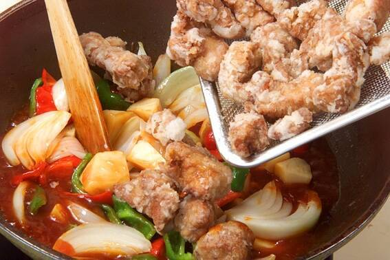 おいしい酢豚の作り方の手順8
