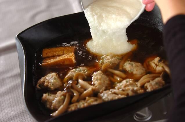 とろろ鍋の作り方の手順6