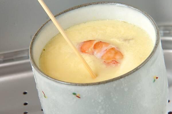 茶わん蒸しの作り方の手順10