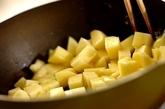 キノコと揚げジャガイモのホットサラダの作り方1