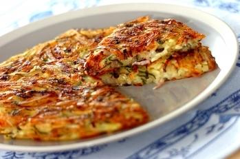 大葉とチーズのトローリガレット
