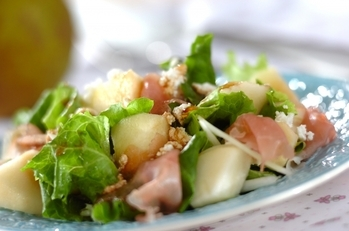 洋梨のサラダ