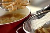 ゴボウとコンニャクの混ぜご飯の作り方1