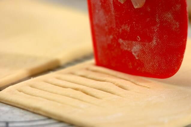 スイートポテトデニッシュの作り方の手順12