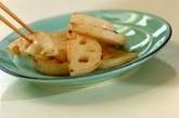 レンコンの中華炒めの作り方1