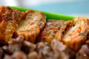 アサリと紅ショウガの卵焼き