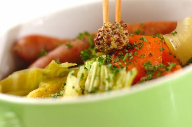 野菜を食べるスープ 基本のポトフの作り方の手順3