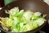 レタスの卵炒めの作り方2
