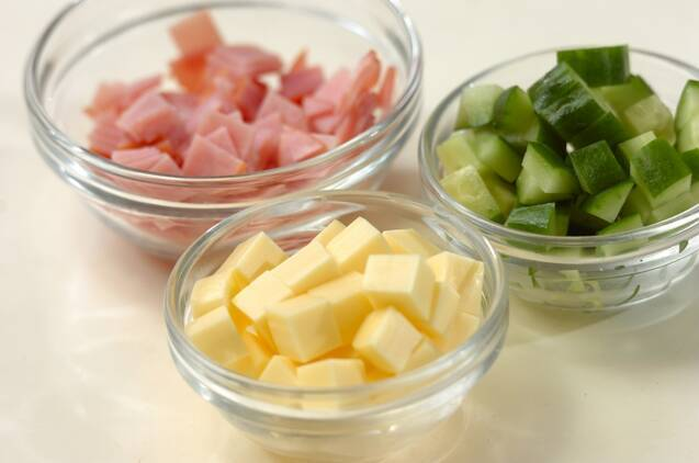 マセドアンサラダの作り方の手順2