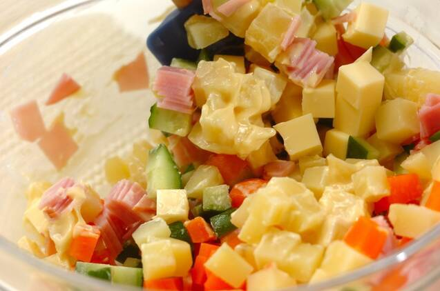 マセドアンサラダの作り方の手順3