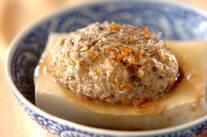 中華風蒸し豆腐