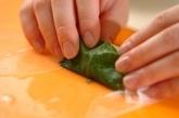 サラダ生春巻きの明太ソースの作り方1