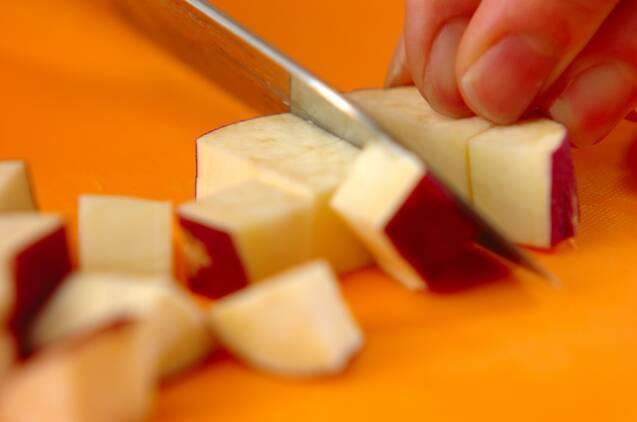 サツマイモのポタージュの作り方の手順1