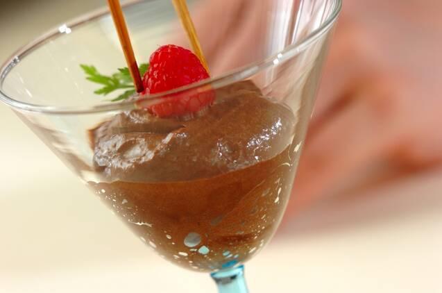ムース・オ・ショコラの作り方の手順8