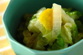白菜のユズコショウマリネ