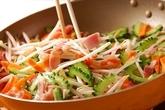 素麺チャンプルーの作り方1