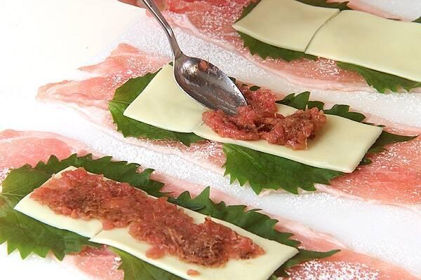 豚肉のチーズ巻きフライの作り方の手順6