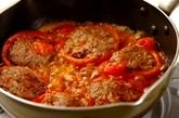 トマトの肉詰めの作り方5