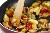 夏野菜のスピードカレーの作り方3