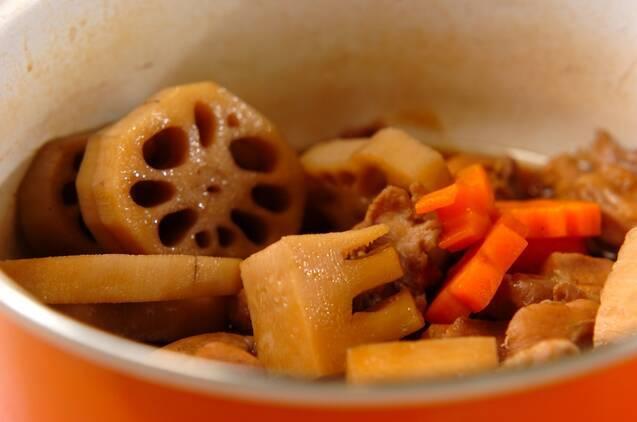 根菜の煮物の作り方の手順3