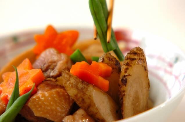 根菜の煮物の作り方の手順4