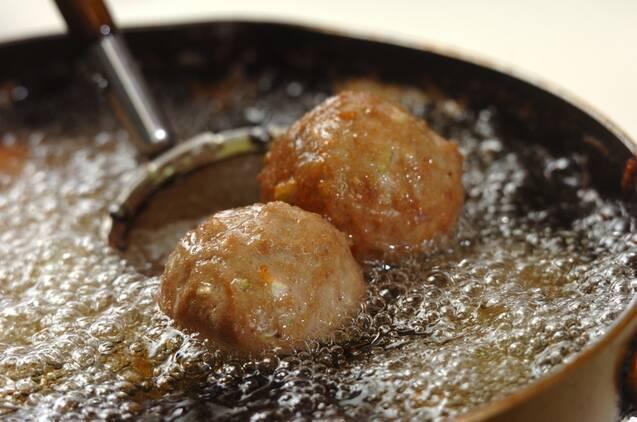 肉団子の照り焼きの作り方の手順4