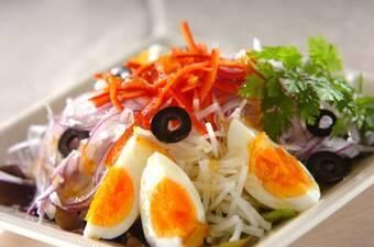 卵の南仏風サラダ
