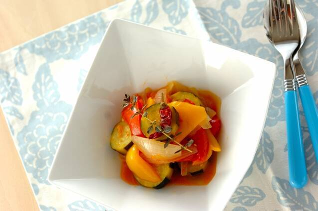 サラダからパスタまで食べ方いろいろ♪ ズッキーニの人気レシピ20品の画像
