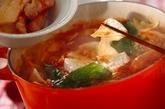カマンベール鍋の作り方4