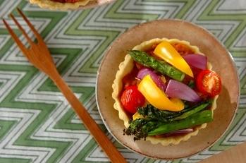 春野菜のタルト