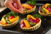 春野菜のタルトの作り方6