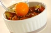 半熟卵の根菜カレーグラタンの作り方2