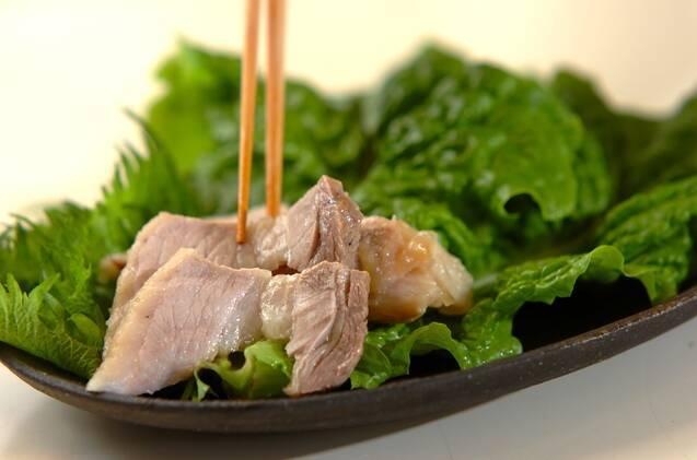 ポッサム(韓国風ゆで豚)の作り方の手順6