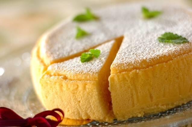 豆腐スフレチーズケーキ