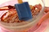 ゴマのチュイールチョコレートの作り方1